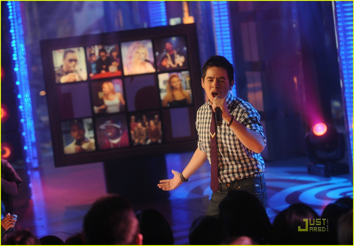 david archuleta mtv tl 131540921