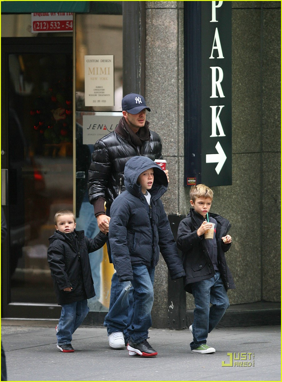 david beckham big apple boys 161571271