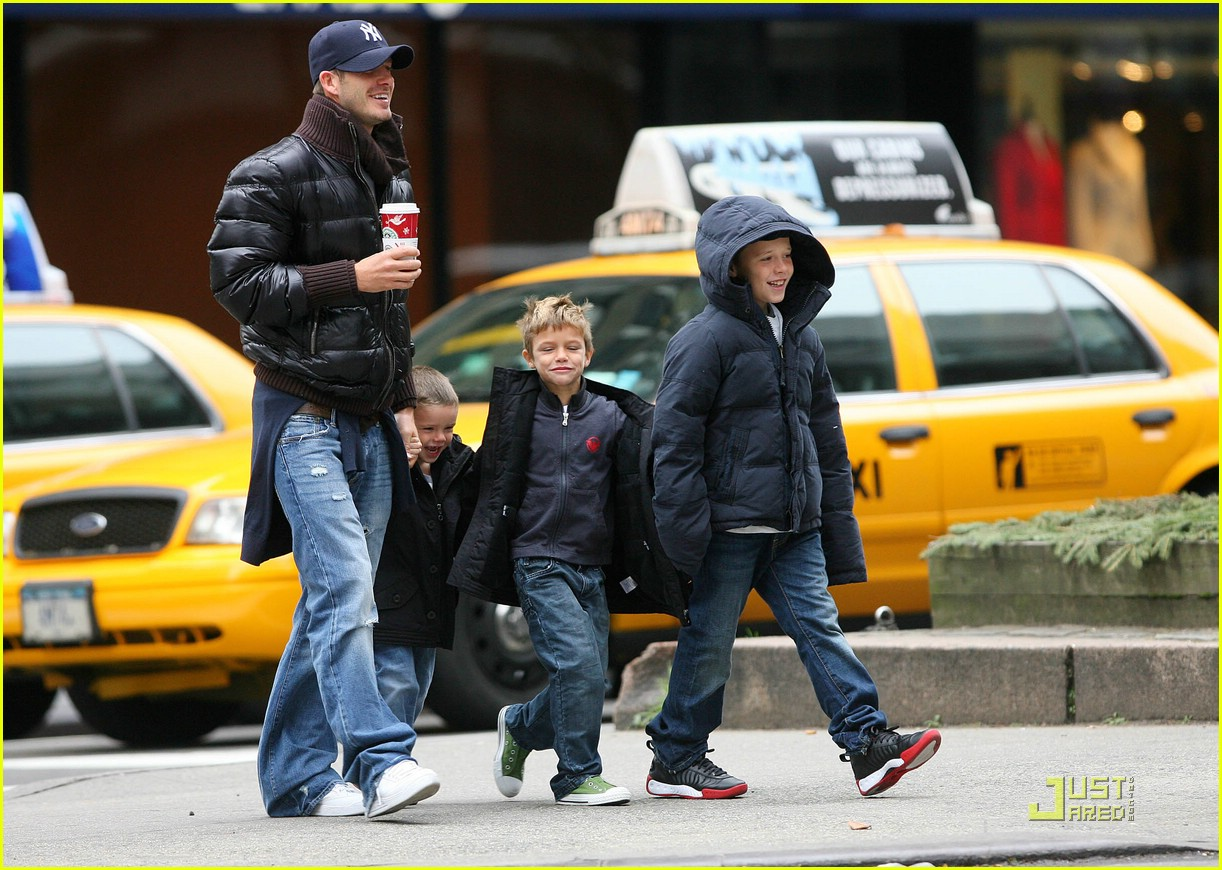 david beckham big apple boys 181571291