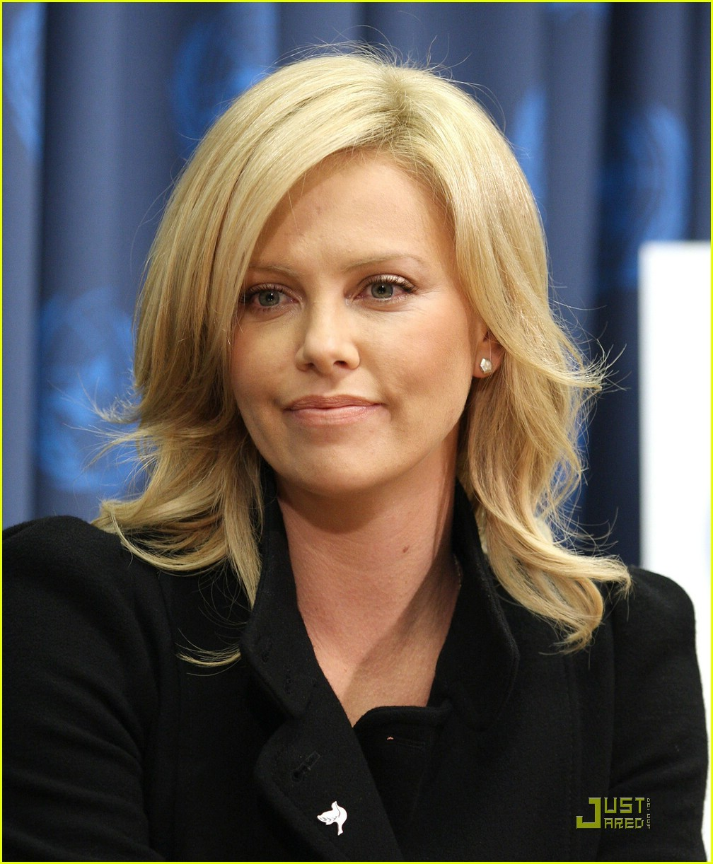 charlize theron united nations messenger of peace 121550831