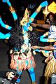 heidi klum blue indian goddess halloween 02