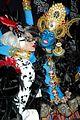 heidi klum blue indian goddess halloween 10