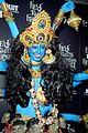 heidi klum blue indian goddess halloween 17