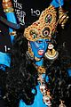 heidi klum blue indian goddess halloween 22