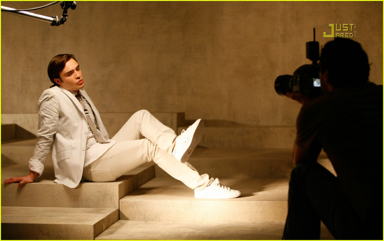 Ed Westwick's K-Swiss Ads -- PREVIEW! Ed Westwick