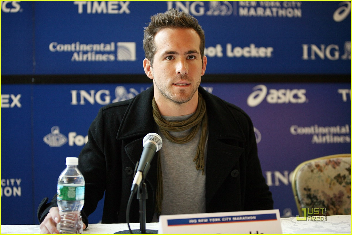 ryan reynolds nyc marathon 201522211