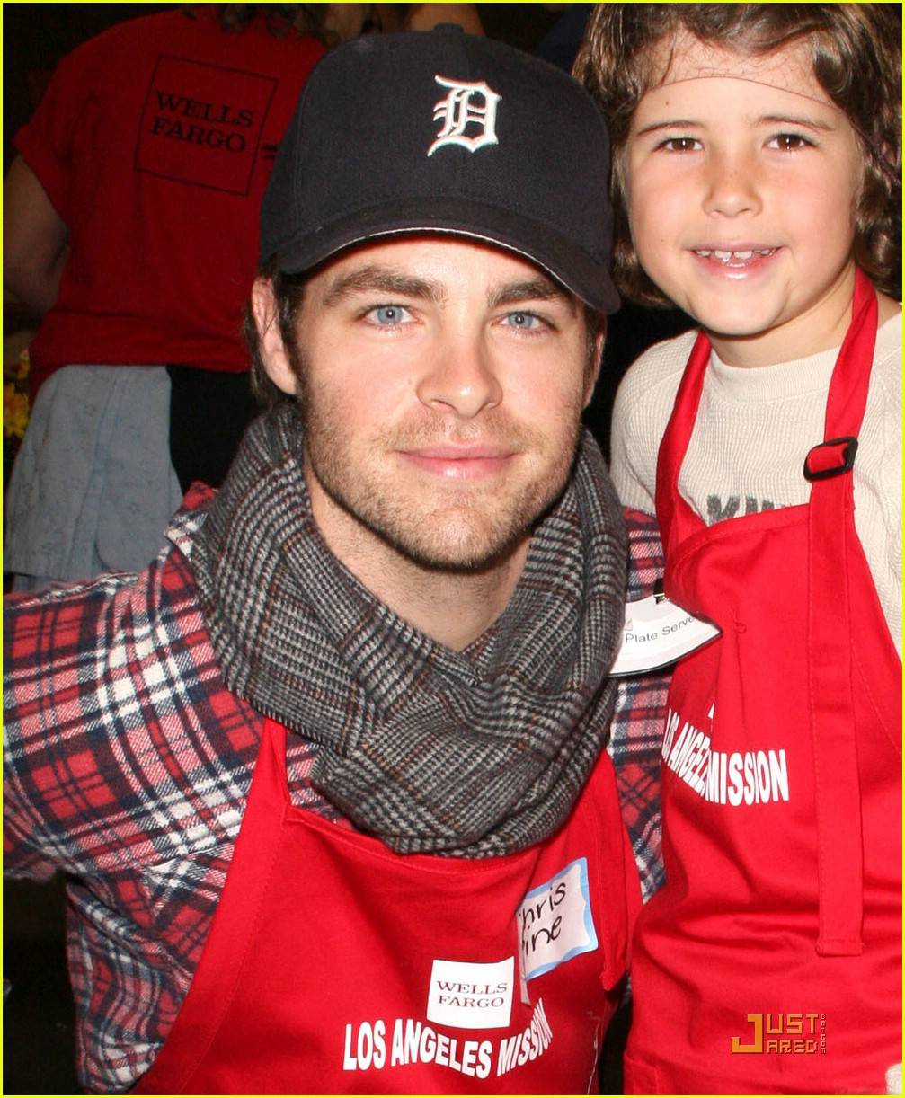chris pine los angeles mission 08