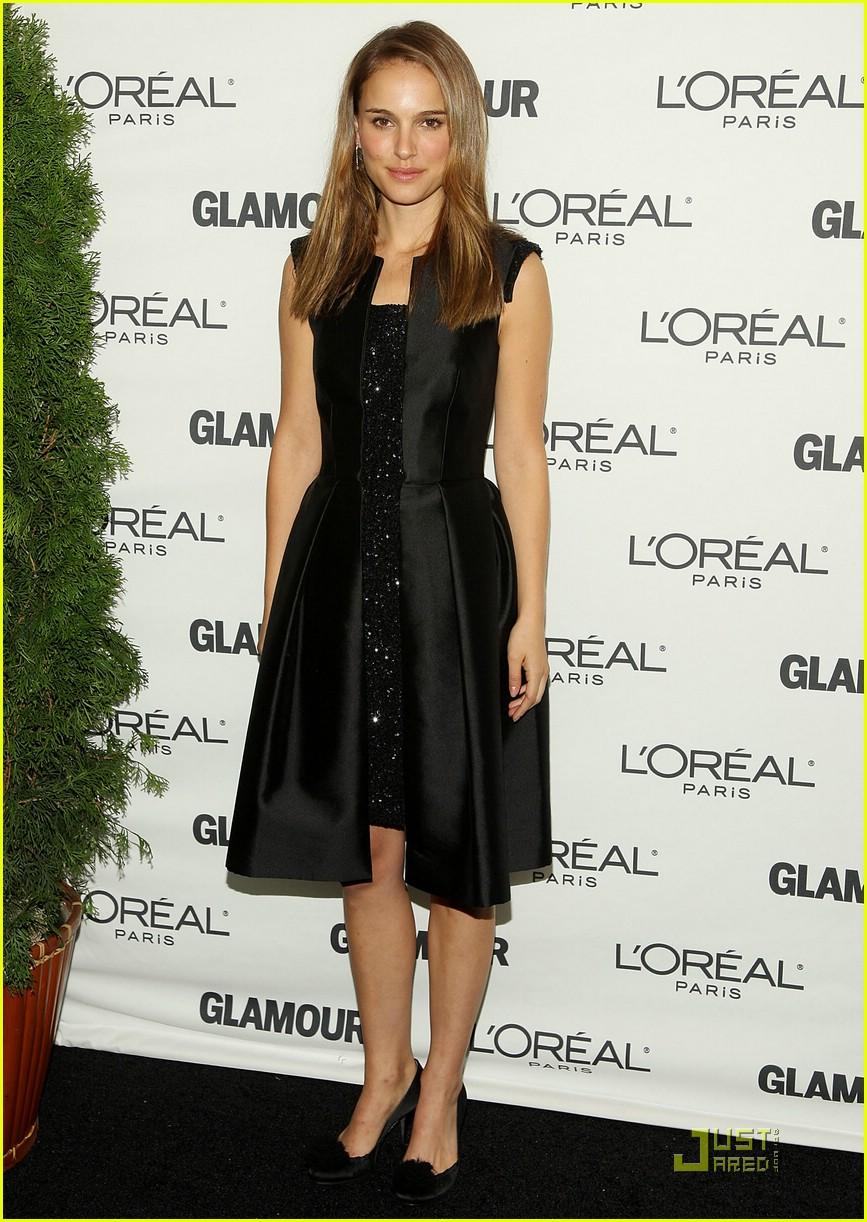 Full Sized Photo Of Natalie Portman Glamour Awards 01