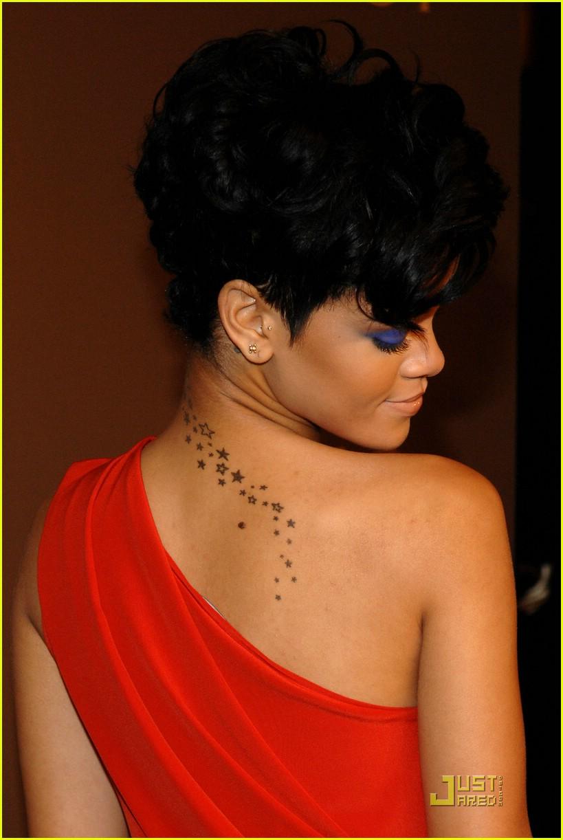 rihanna tribal hand tattoo 031554861