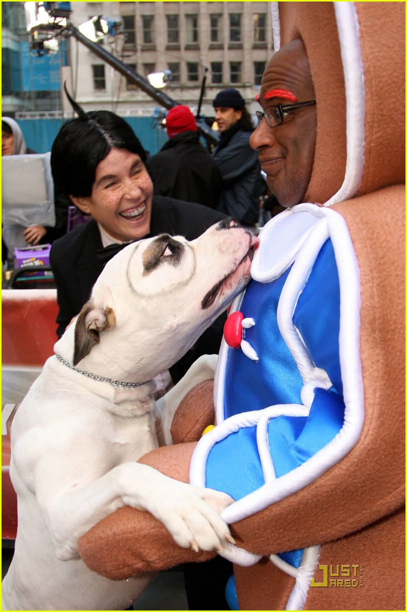al roker gingerbread man dog 021522481