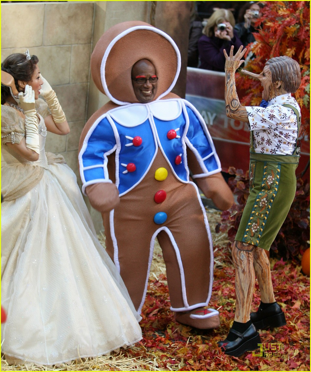al roker gingerbread man dog 091522551