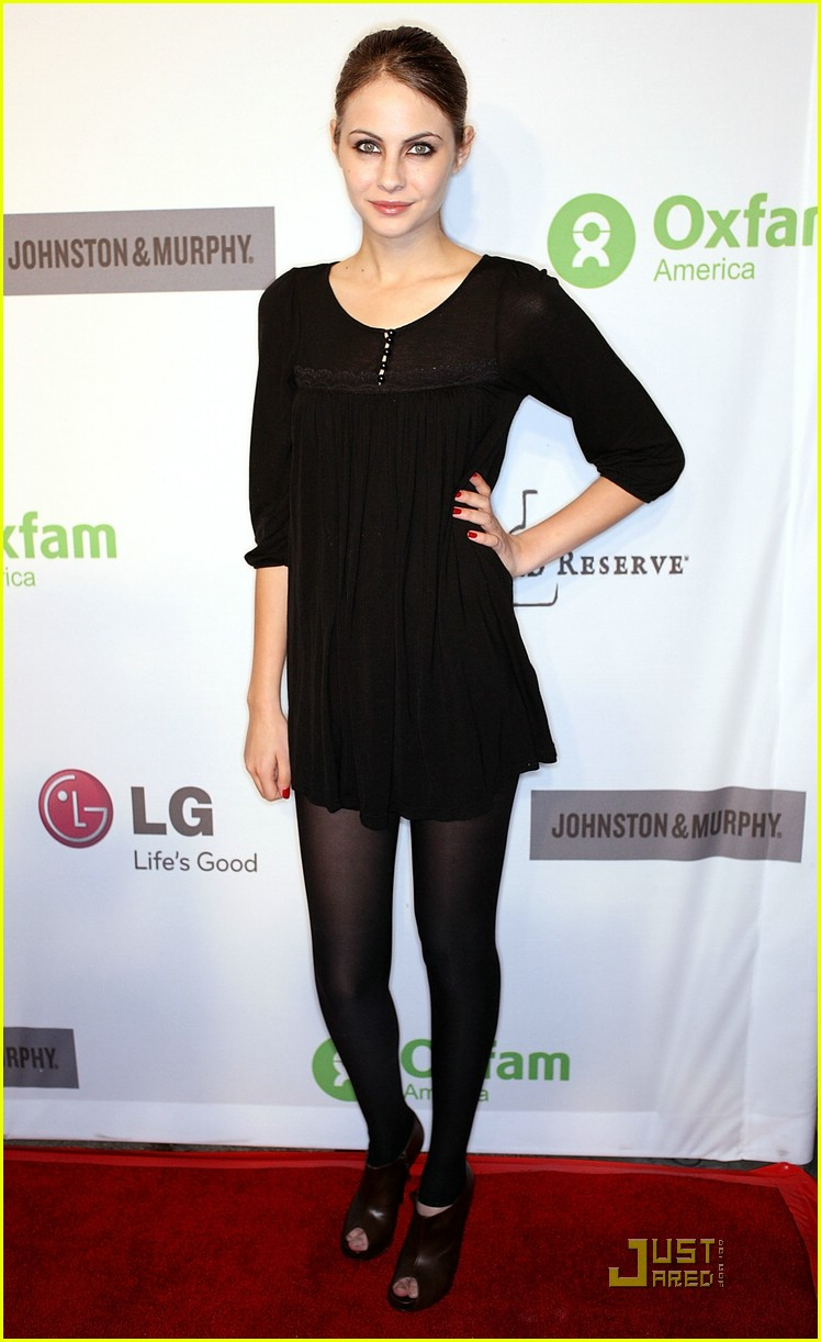 willa holland oxfam party 07