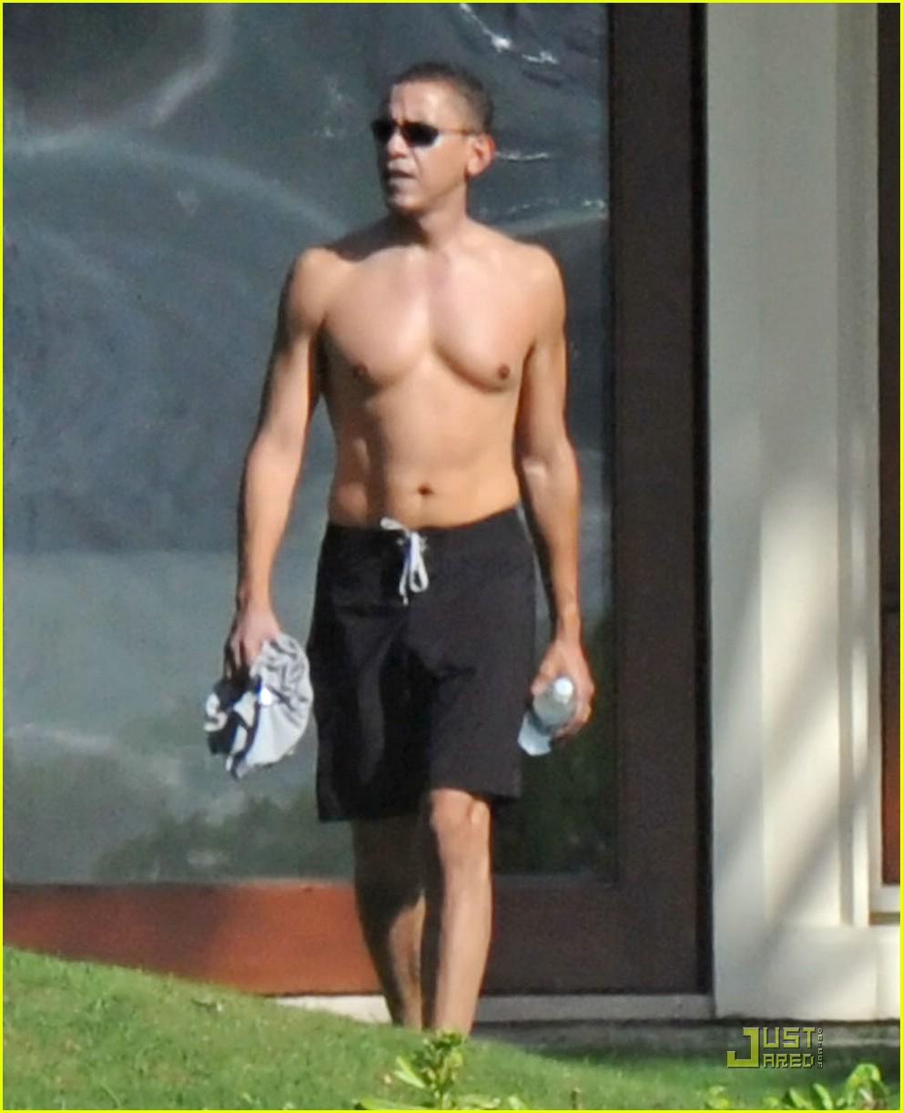 barack obama shirtless 011611171