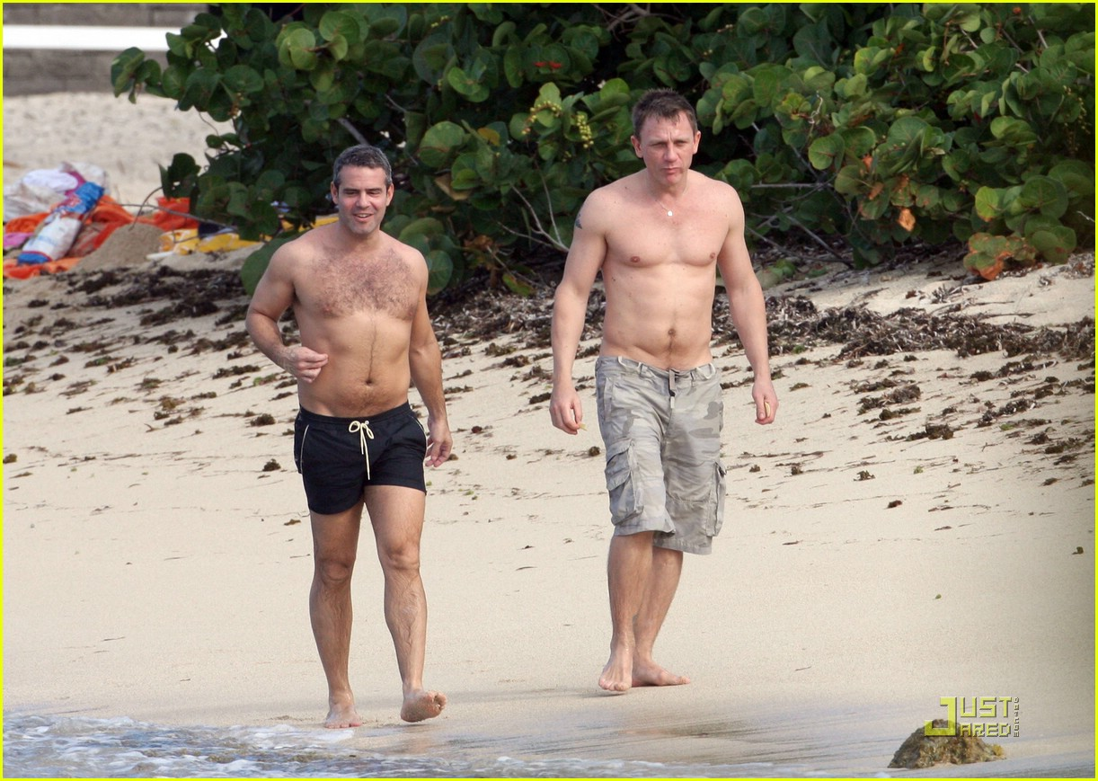 Andy cohen dating daniel craig