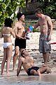 daniel craig st barts beach 09