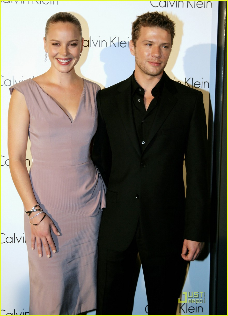 Ryan Phillippe & Abbie Cornish: Calvin Klein Couple: Photo ... Abbie Cornish Married