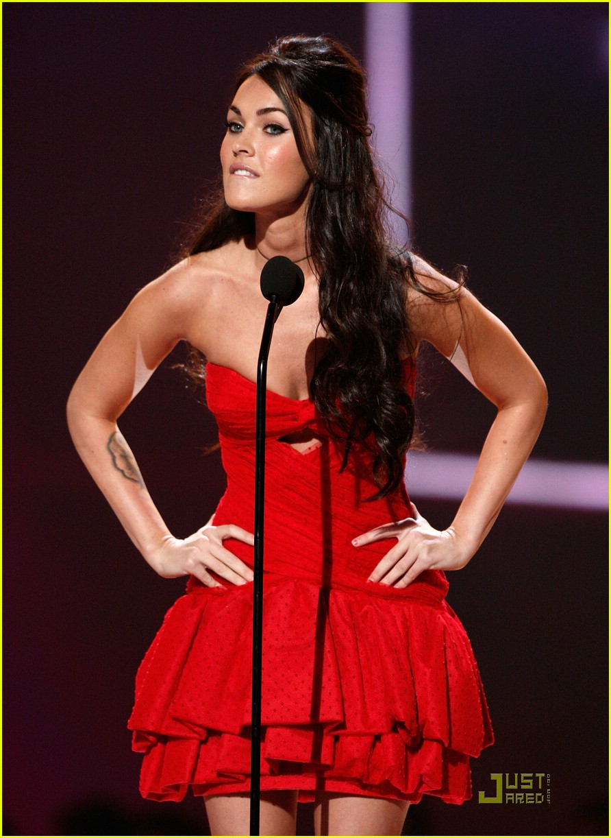 megan fox spike tv video game awards 08