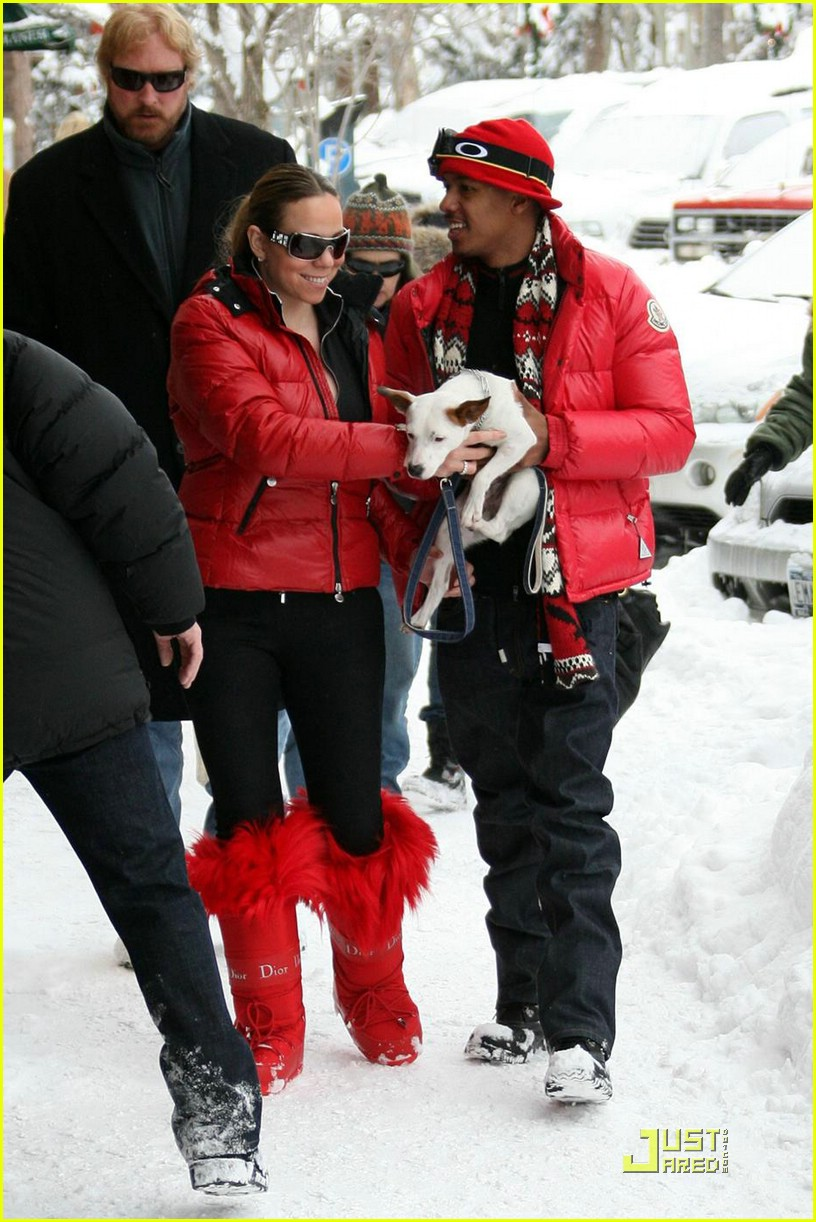mariah carey nick cannon aspen 06
