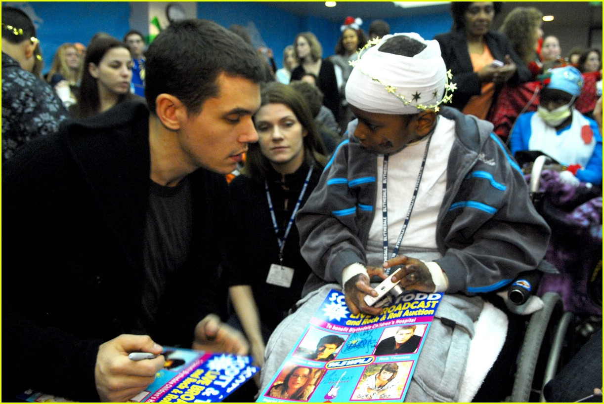 john mayer children hospital 17