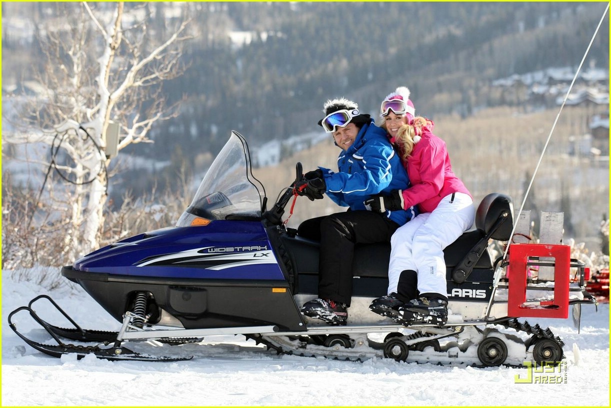 heidi montag spencer pratt skiing 051584401