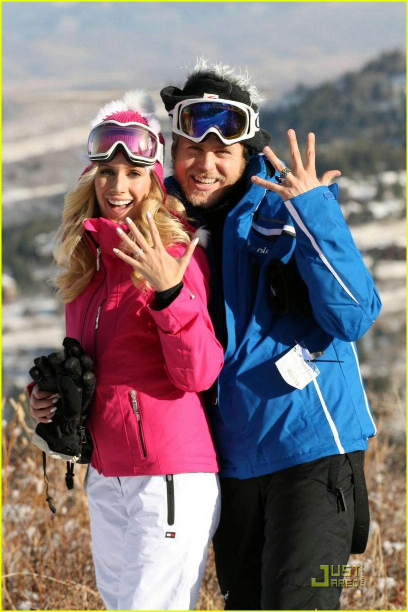 heidi montag spencer pratt skiing 081584431