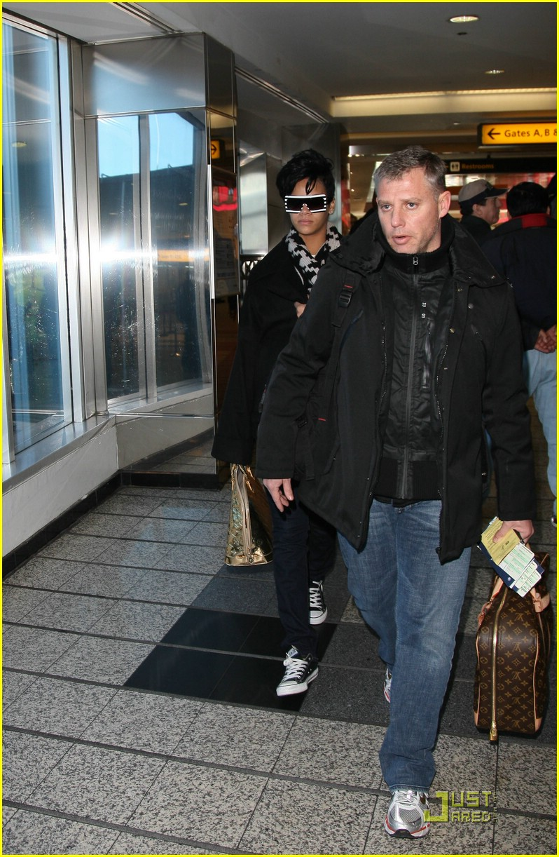 rihanna chris brown la guardia 021595741