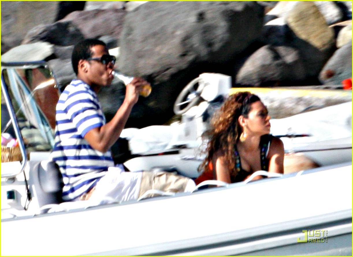beyonce jay z st barts boating 071625191