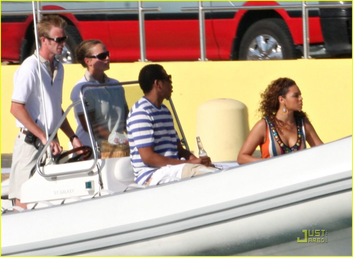 beyonce jay z st barts boating 131625251