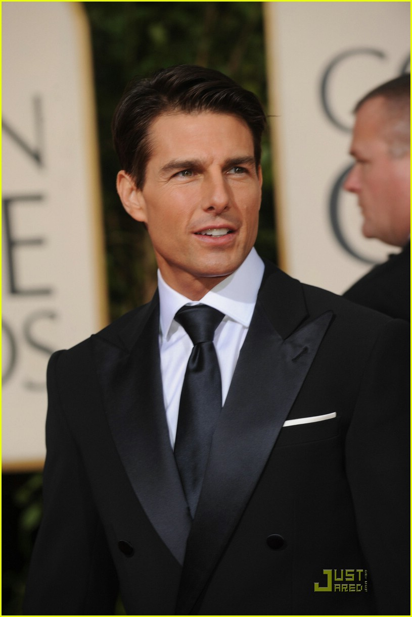 tom cruise golden globes 2009 mom 231647581