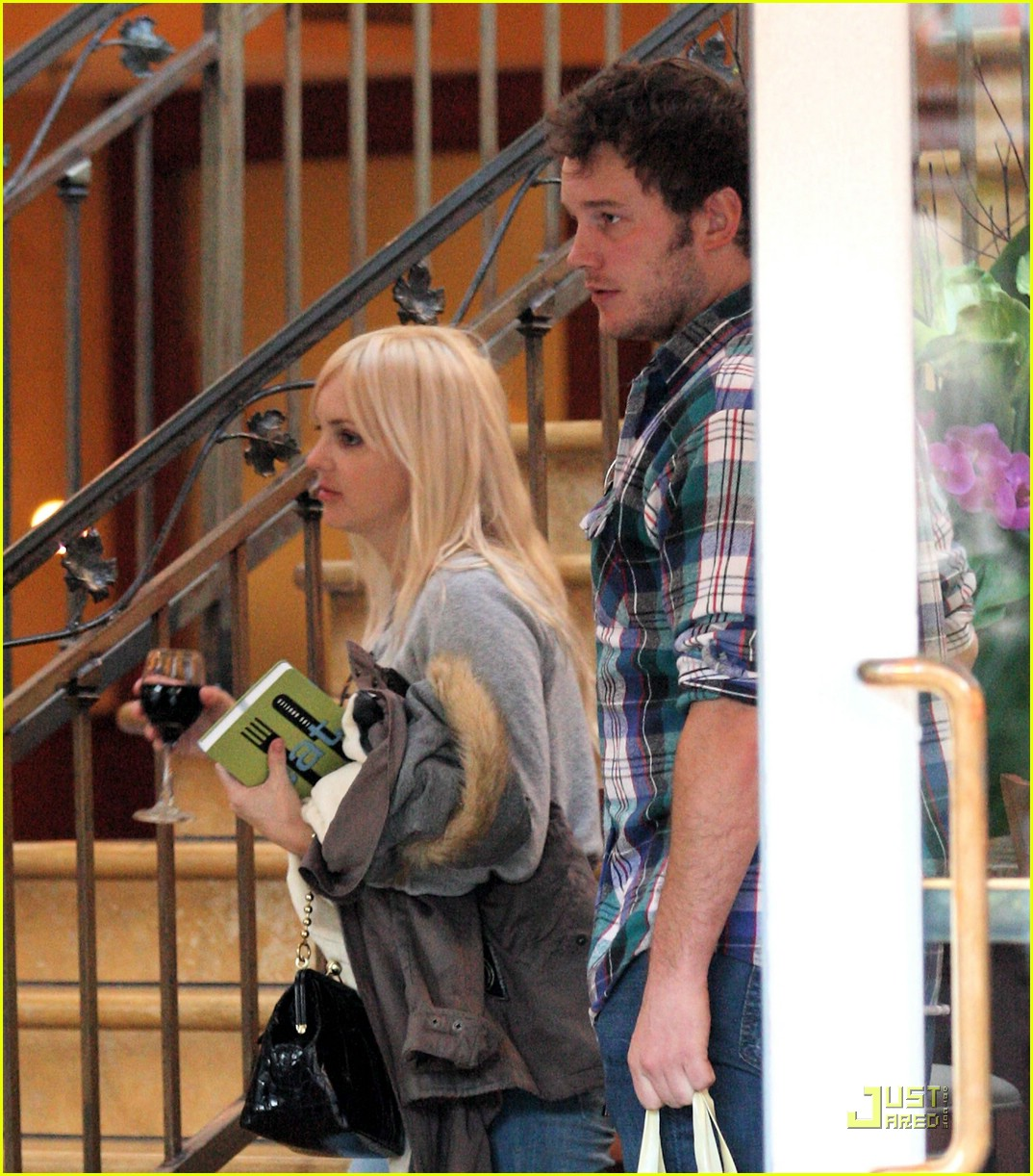anna faris chris pratt couple 091687481