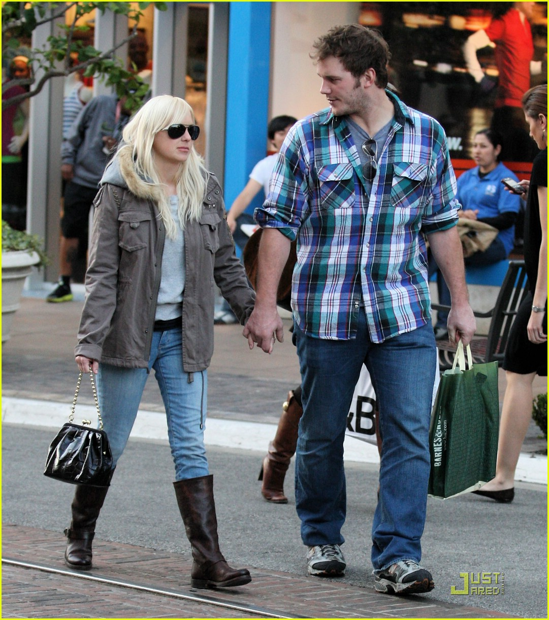 anna faris chris pratt couple 111687501
