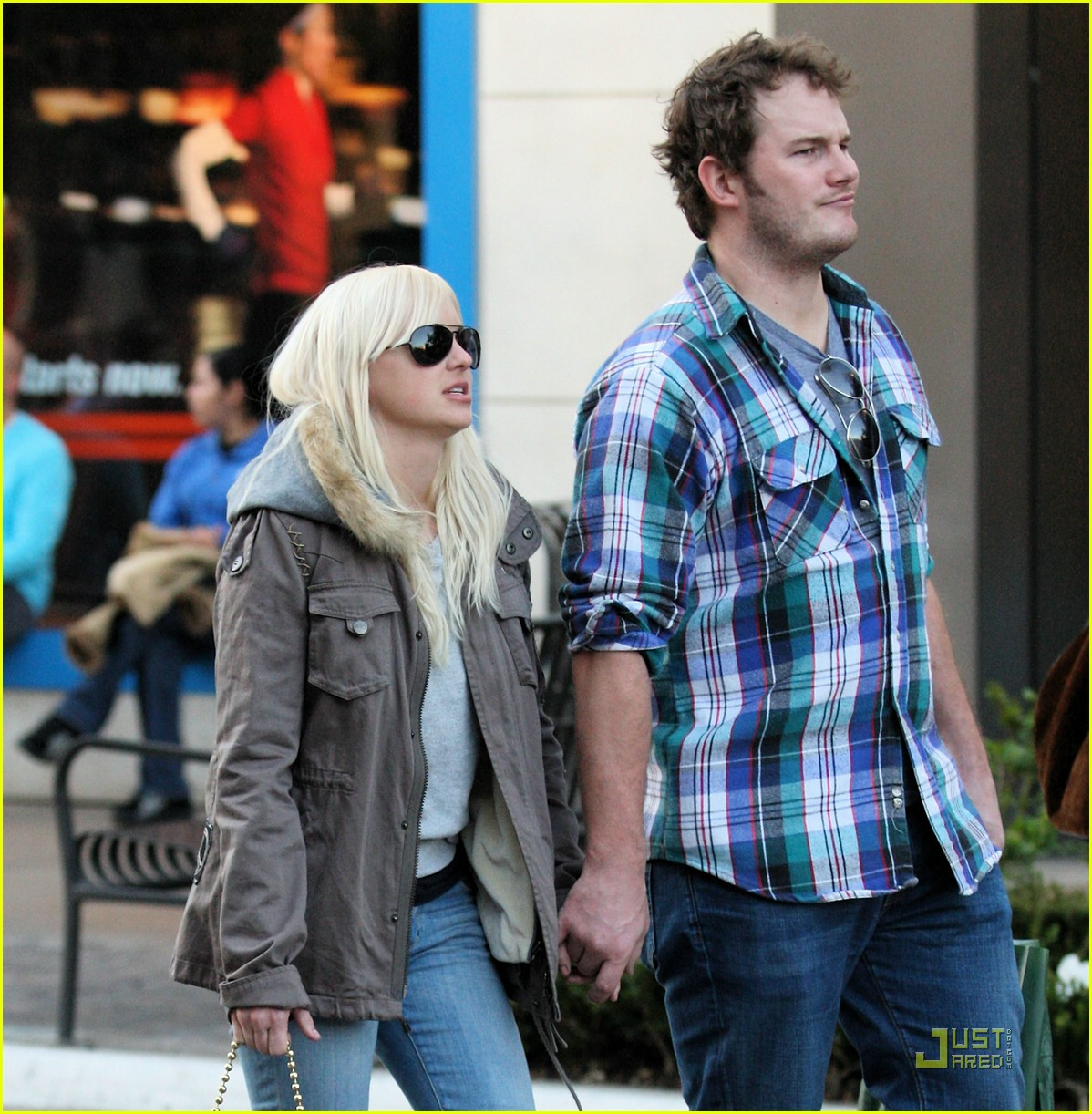 anna faris chris pratt couple 171687561