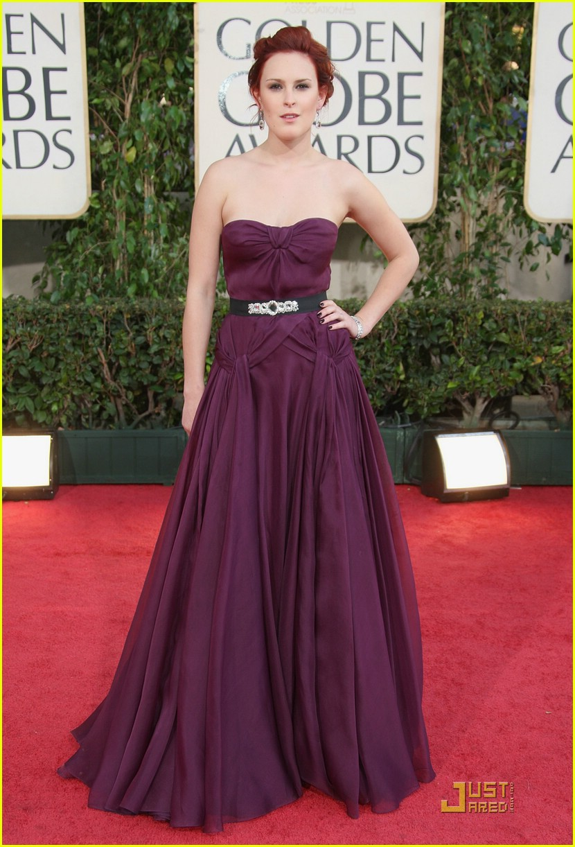 rumer willis golden globes 2009 051643821
