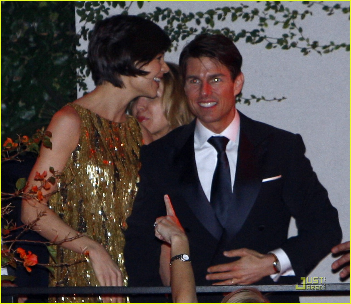 katie holmes golden globes party 031649531