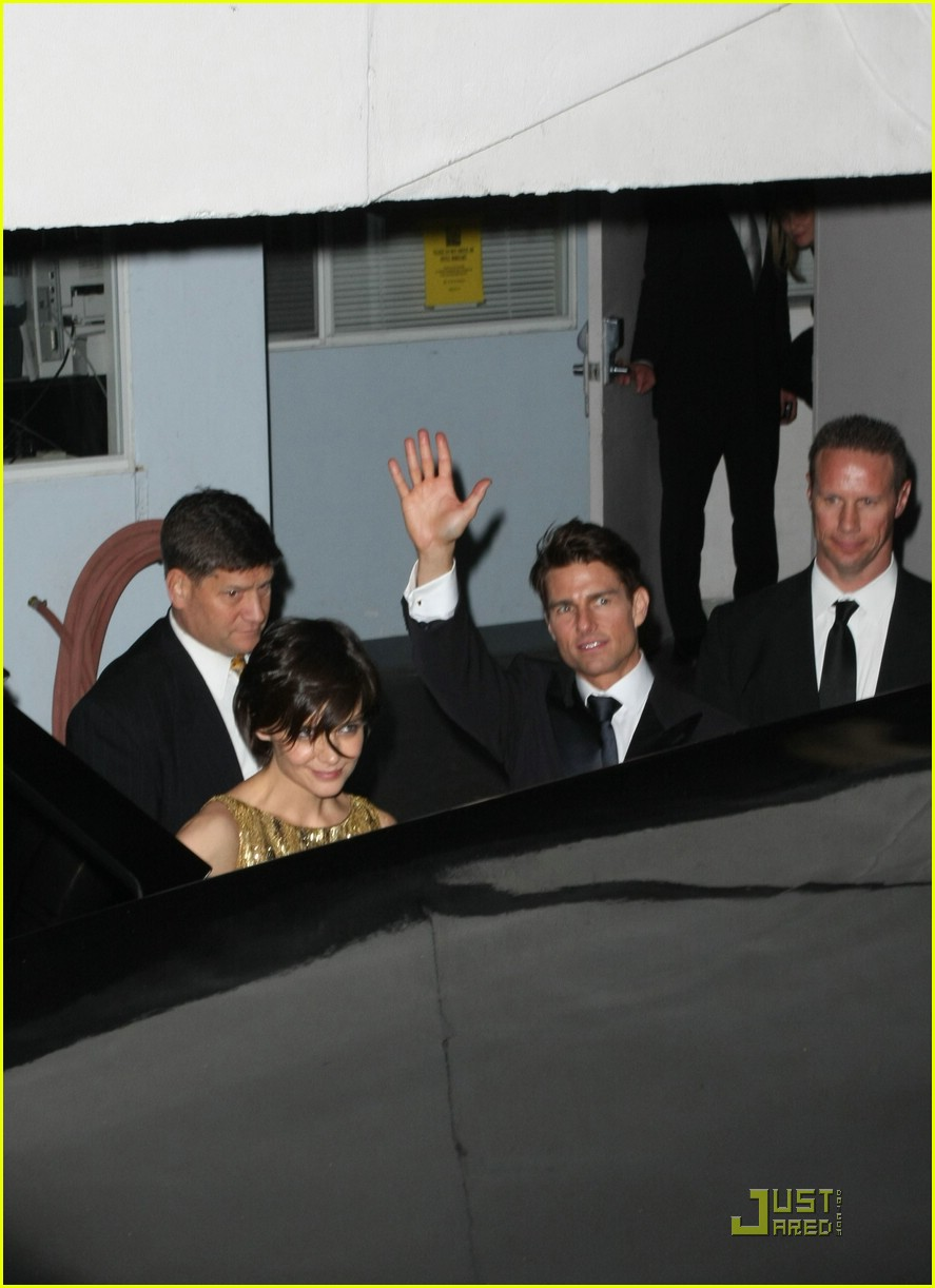katie holmes golden globes party 081649581