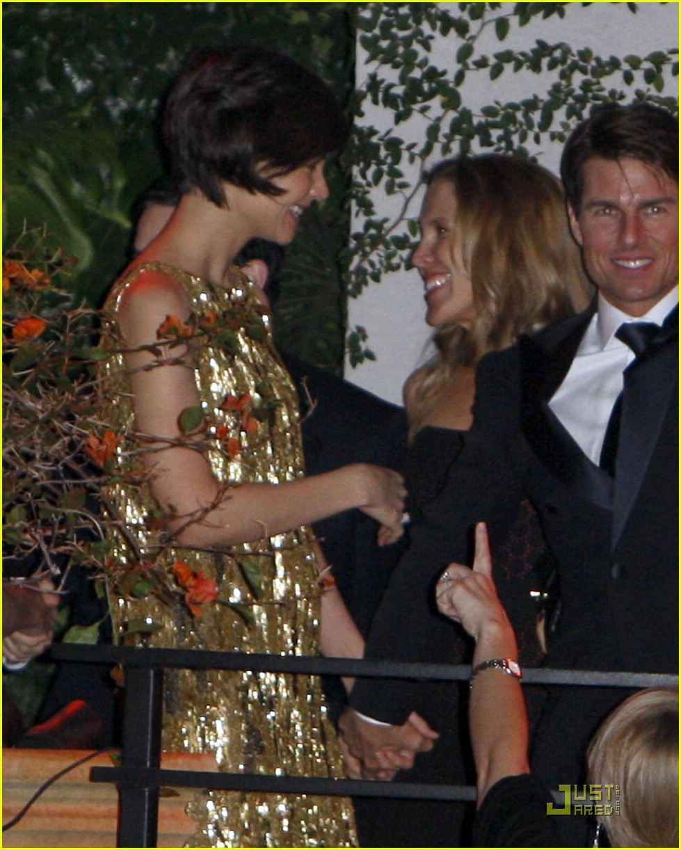 katie holmes golden globes party 091649591