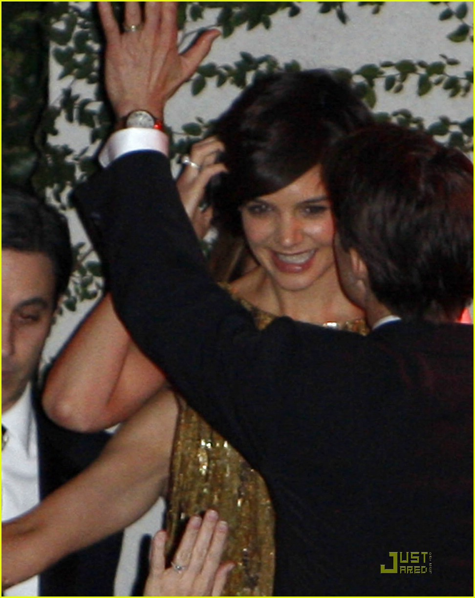 katie holmes golden globes party 10