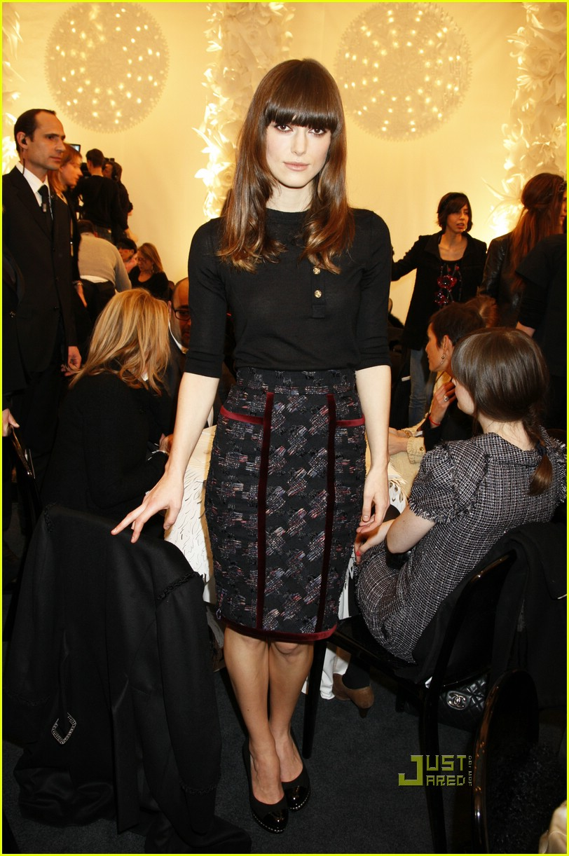 keira knightley karl lagerfeld chanel 18