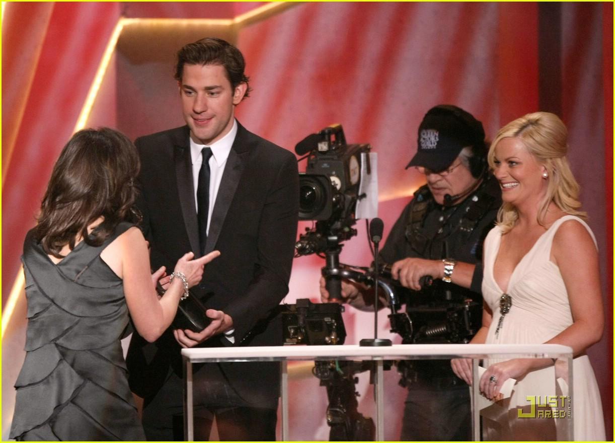 john krasinski emily blunt sag awards 2009 131680411