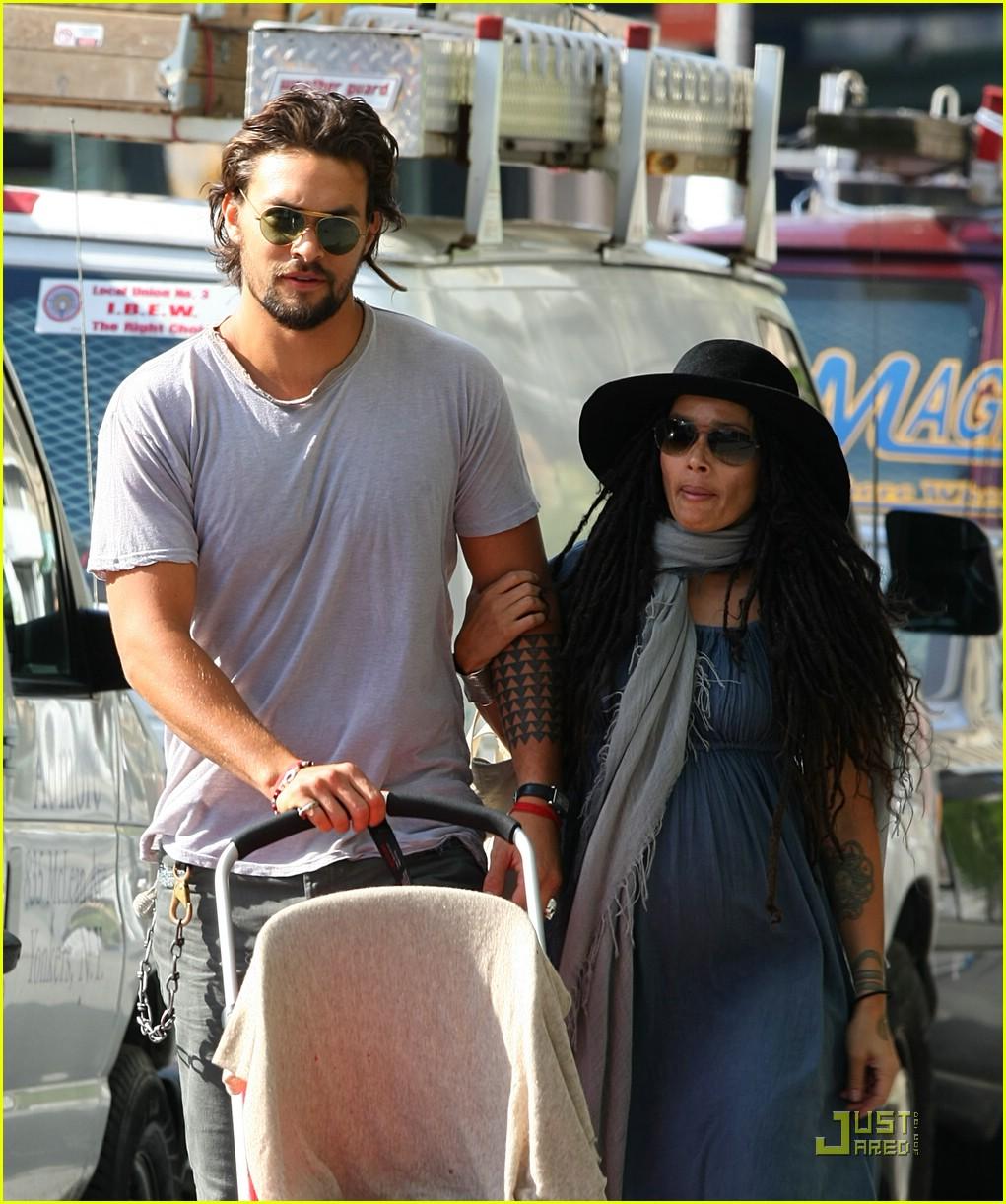 Jason Momoa And Lisa Bonet Had Secret Wedding: Nakoa-Wolf Momoa: Lisa Bonet's New Son!: Photo 1638861