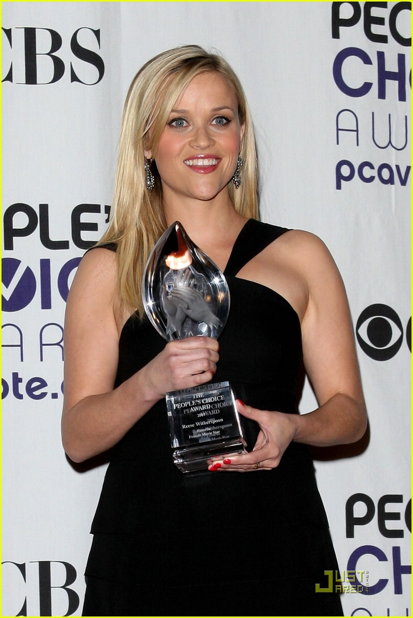 reese witherspoon peoples choice awards 2009 10