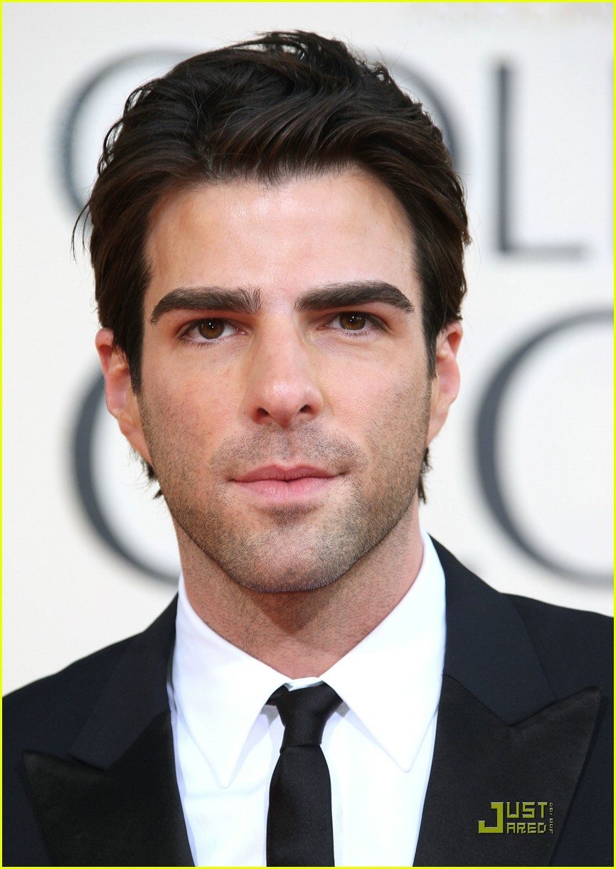 chris pine zachary quinto golden globes 2009 061648251