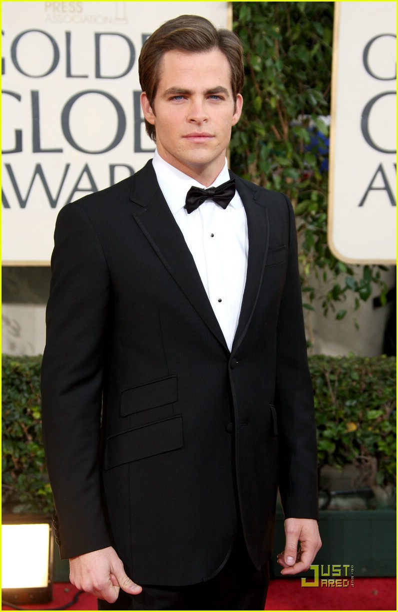 chris pine zachary quinto golden globes 2009 10