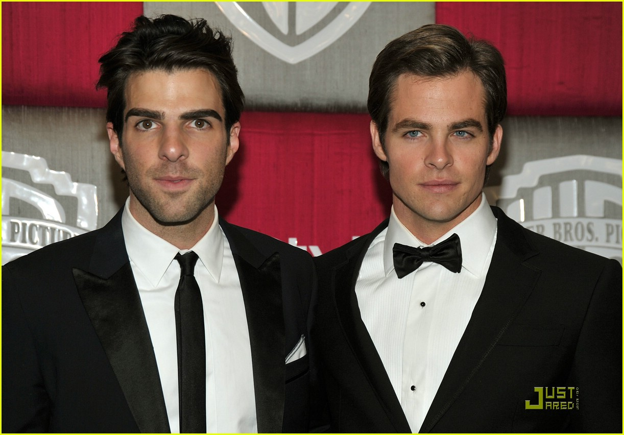chris pine zachary quinto golden globes 2009 221648411