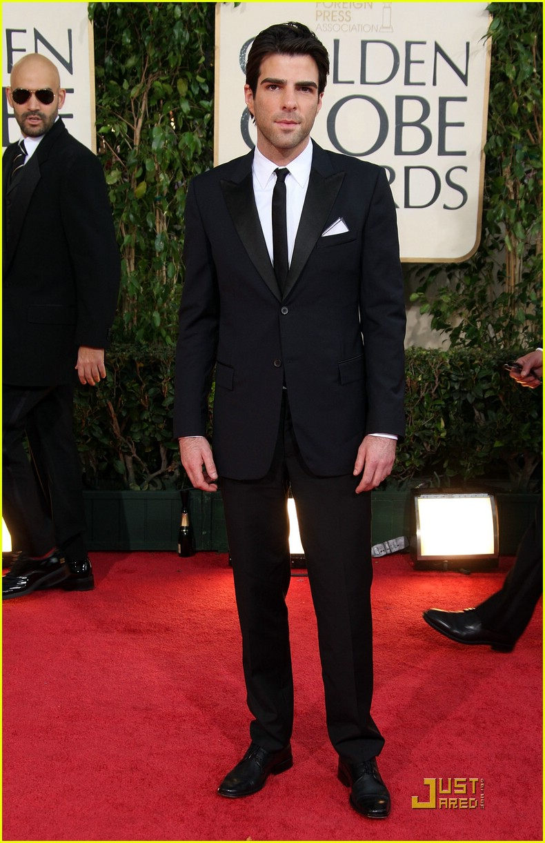 chris pine zachary quinto golden globes 2009 23