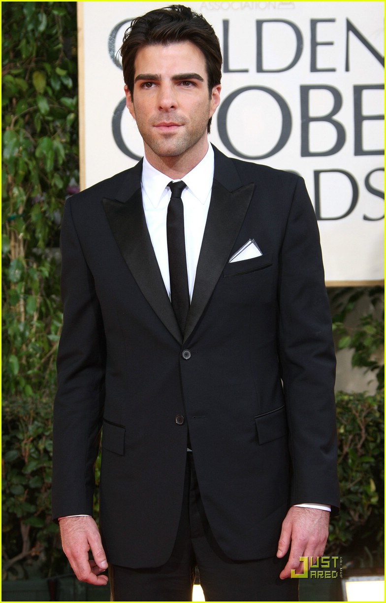 chris pine zachary quinto golden globes 2009 25