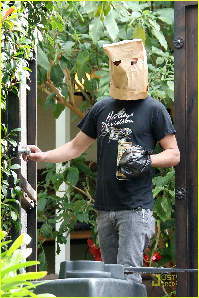 shia labeouf paper bag head 051671311