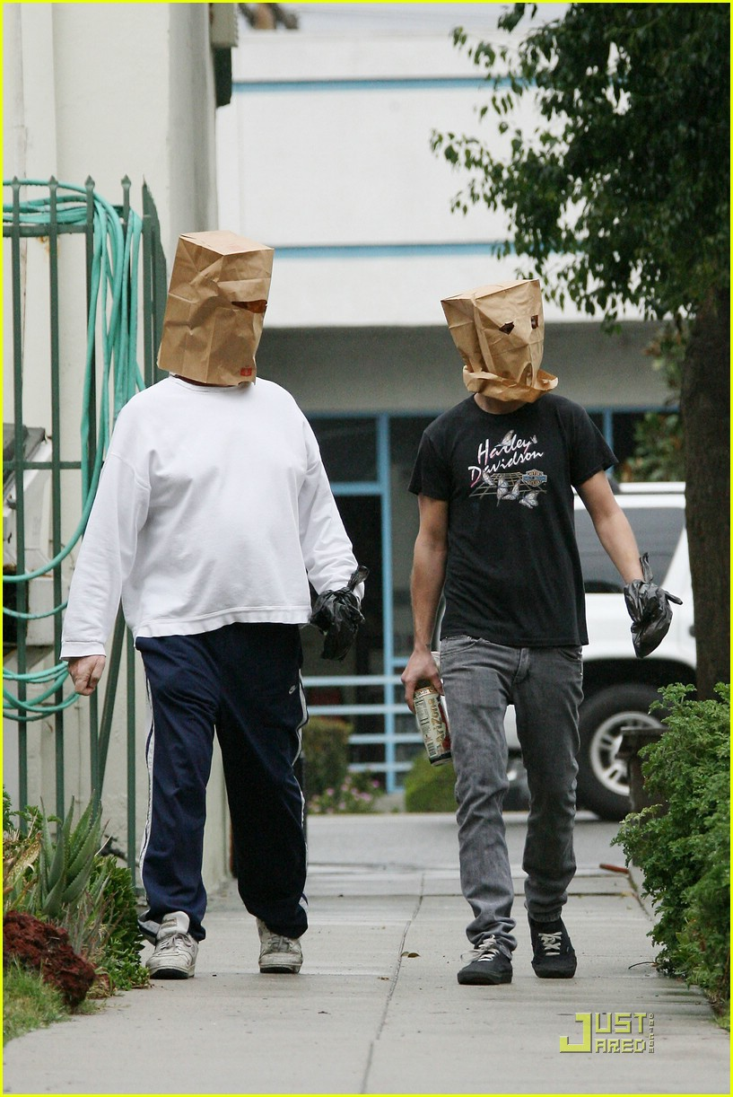 shia labeouf paper bag head 09