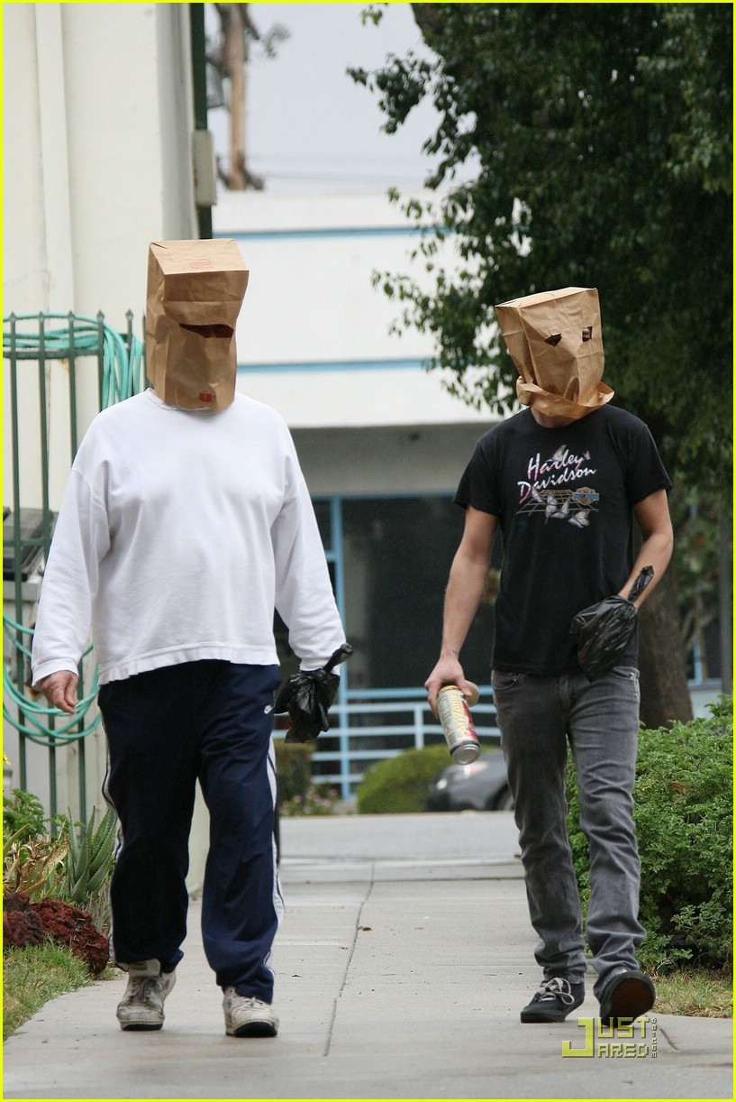 shia labeouf paper bag head 12