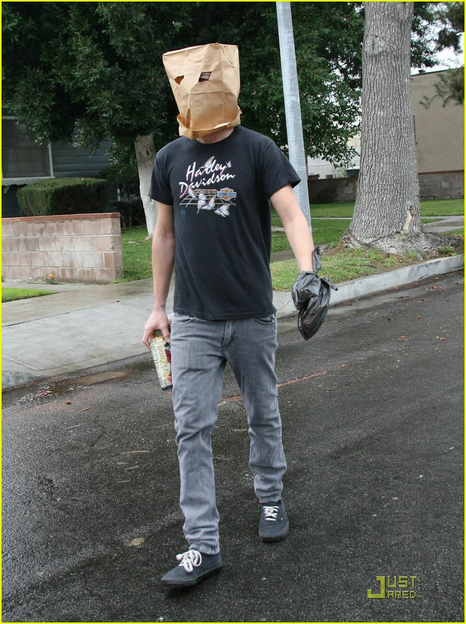 shia labeouf paper bag head 131671391